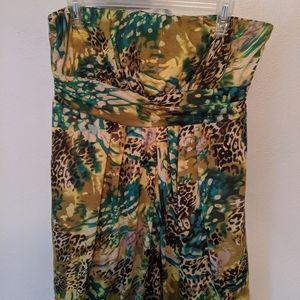 Strapless mini dress american rag plus (macy's)